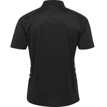 hmlPROMO POLO, BLACK, packshot