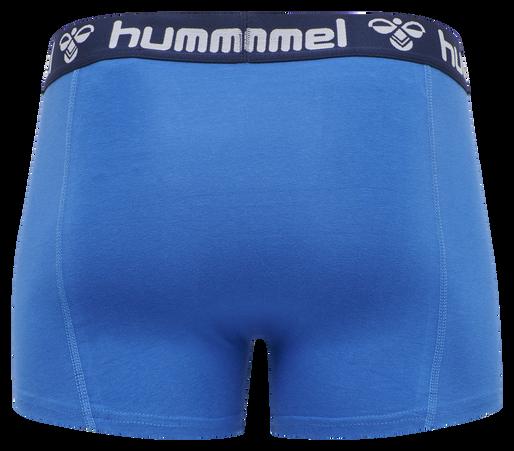 HMLMARS 2PACK BOXERS, NEBULAS BLUE/TOTAL ECLIPSE, packshot