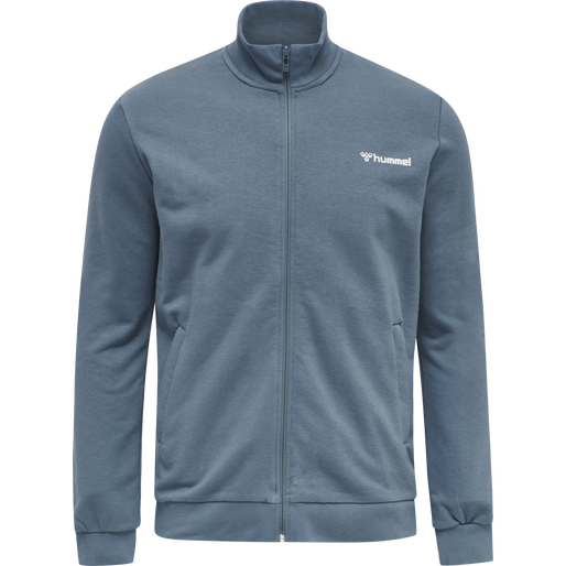 hmlISAM ZIP JACKET, CHINA BLUE, packshot