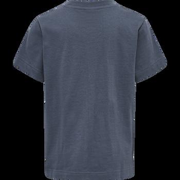 hmlTUPAC T-SHIRT L/S, OMBRE BLUE , packshot