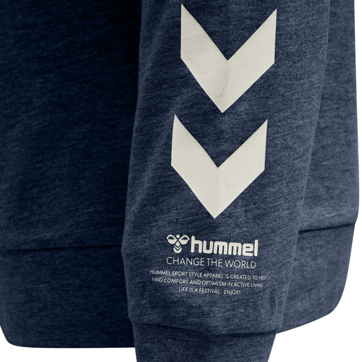 hmlCONNOR SWEATSHIRT, CHINA BLUE, packshot