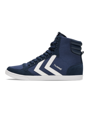 HUMMEL SLIMMER STADIL HIGH, DRESS BLUE/WHITE KH, packshot