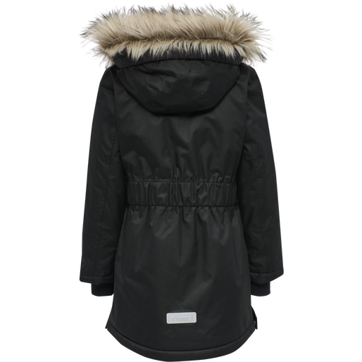 hmlMARTHA COAT, BLACK, packshot