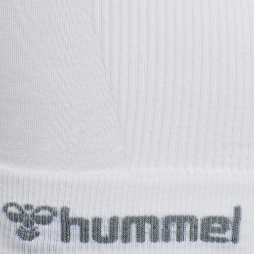 hmlTIF SEAMLESS TOP, WHITE, packshot