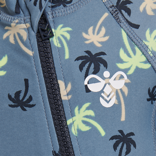 hmlBEACH SWIMSUIT, COPEN BLUE, packshot