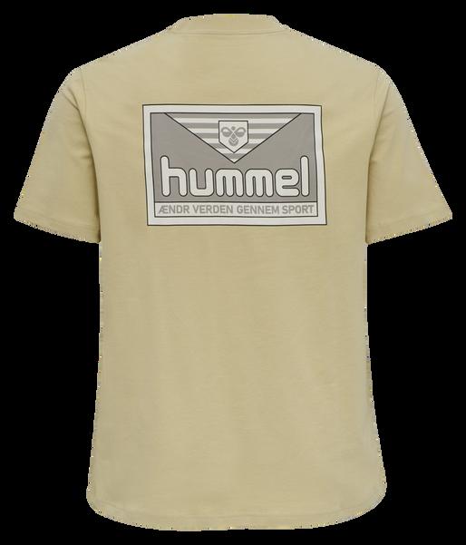 hmlFERIE T-SHIRT, PALE KHAKI, packshot