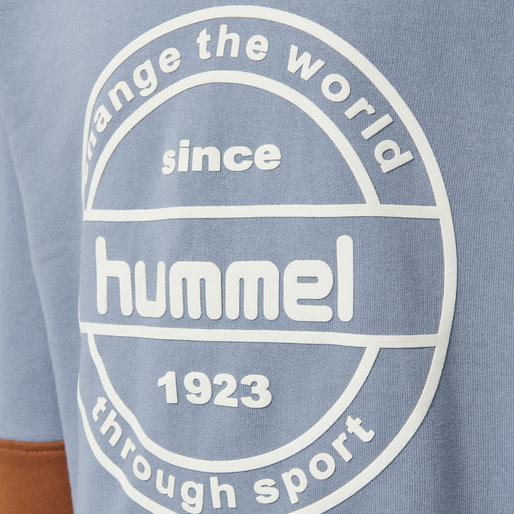 hmlRAMSEY SWEATSHIRT, ASHLEY BLUE, packshot