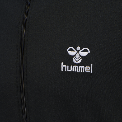hmlNATHAN 2.0 ZIP JACKET, BLACK, packshot