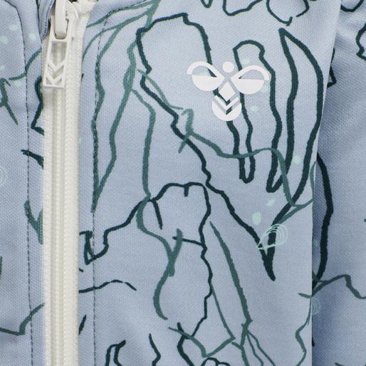 hmlPHILIP ZIP JACKET , BLUE FOG, packshot