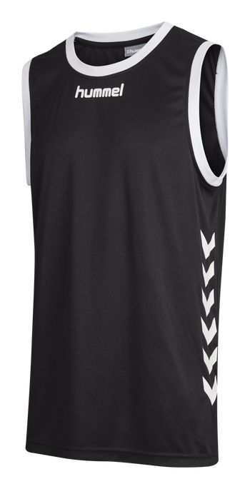 CORE BASKET JERSEY, BLACK, packshot
