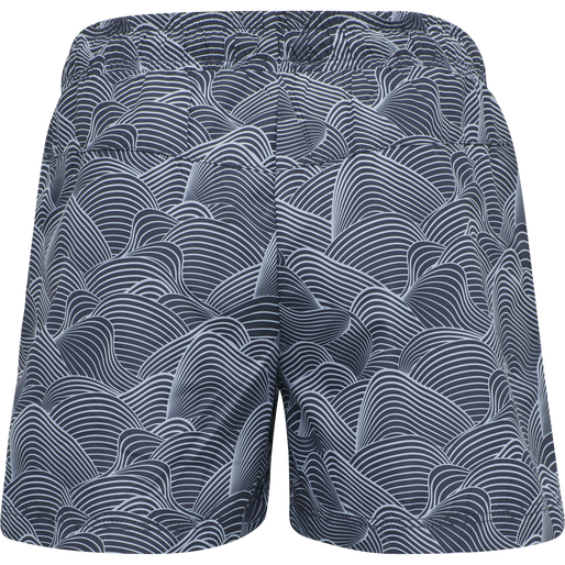 hmlDYBHAV SHORT BOARD SHORTS, INDIA INK, packshot