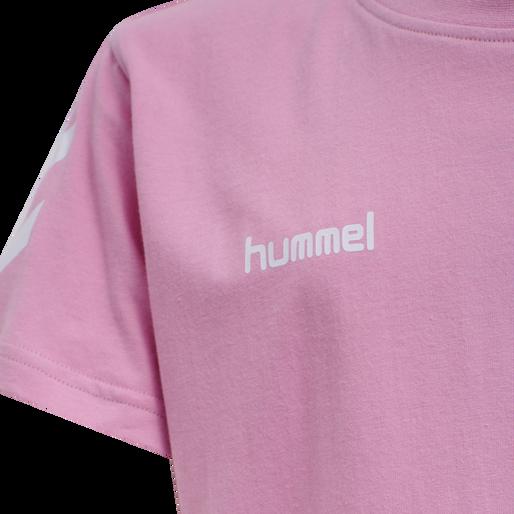 HUMMEL GO KIDS COTTON T-SHIRT S/S, COTTON CANDY, packshot