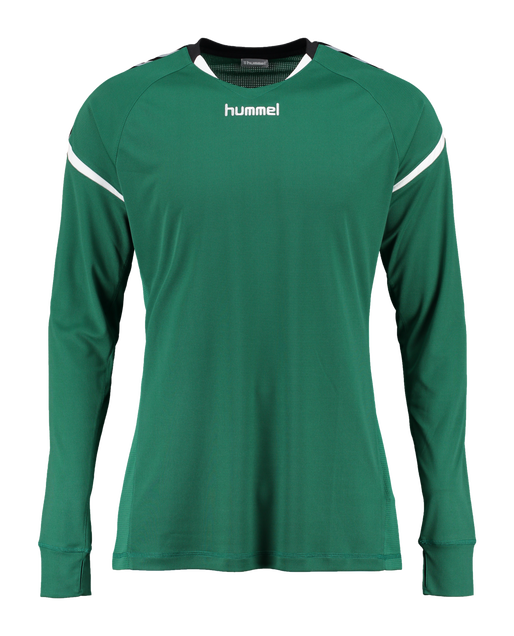 AUTH. CHARGE LS POLY JERSEY, EVERGREEN, packshot