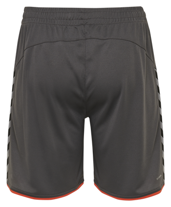 hmlAUTHENTIC POLY SHORTS, ASPHALT, packshot