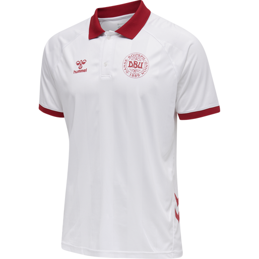 DBU FAN 2020 POLO, WHITE, packshot