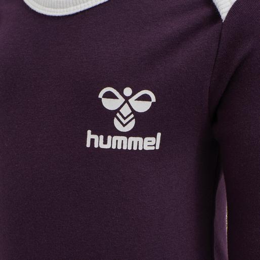 hmlMAUI BODY L/S, BLACKBERRY WINE, packshot