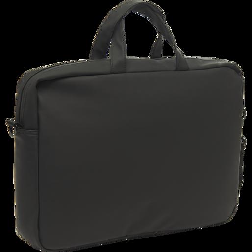 LIFESTYLE LAP TOP SHOULDER BAG, BLACK, packshot
