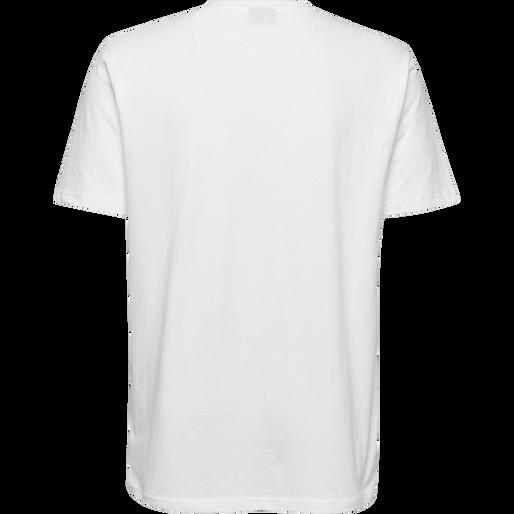 HUMMEL GO COTTON LOGO T-SHIRT S/S, WHITE, packshot