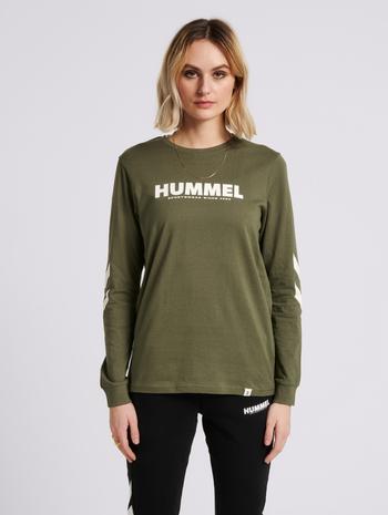 hmlLEGACY T-SHIRT L/S, BEETLE, model