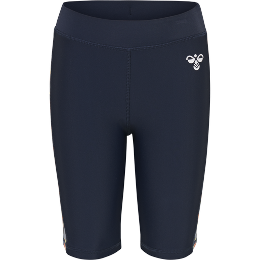 hmlTARNI SWIM SHORTS, BLACK IRIS, packshot