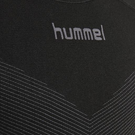 HUMMEL FIRST SEAMLESS KIDS JERSEY S/S , BLACK, packshot