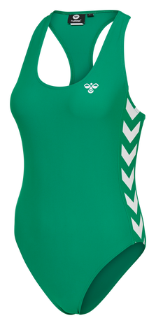 hmlDONNA SWIMSUIT, PEPPER GREEN, packshot