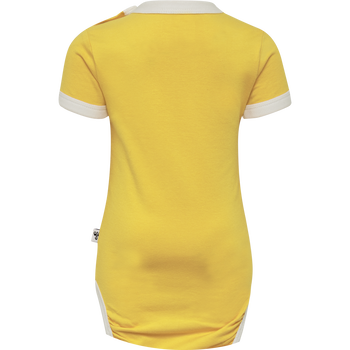 hmlHEAVEN BODY S/S, MINION YELLOW, packshot