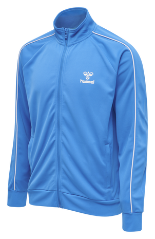 hmlARNE ZIP JACKET, BLUE ASTER, packshot