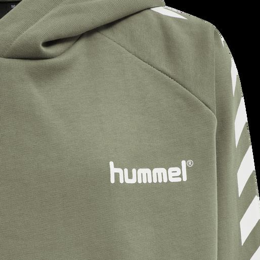 hmlSOLO HOODIE, VETIVER, packshot