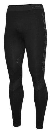HUMMEL FIRST SEAMLESS TIGHTS, BLACK, packshot