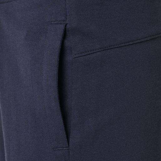 hmlPLESS PANTS, BLACK IRIS, packshot