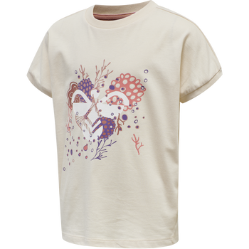 hmlATLANTIS T-SHIRT S/S, MOTHER OF PEARL, packshot