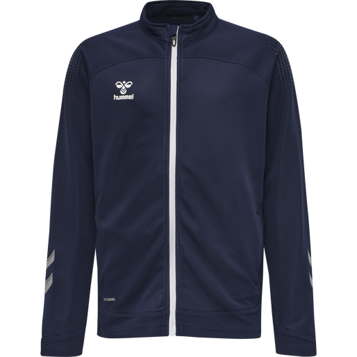hmlLEAD POLY ZIP JACKET KIDS , MARINE, packshot