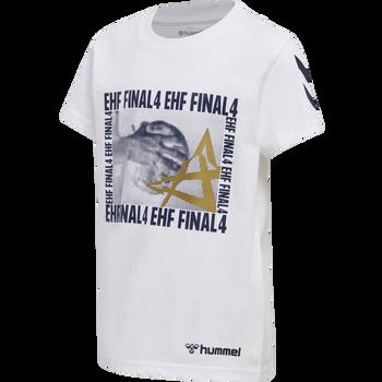 EHF CL FINAL4 T-SHIRT S/S, WHITE, packshot