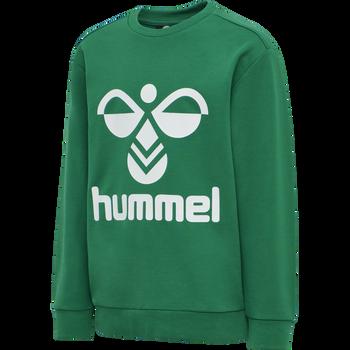 HMLDOS SWEATSHIRT, ULTRAMARINE GREEN, packshot