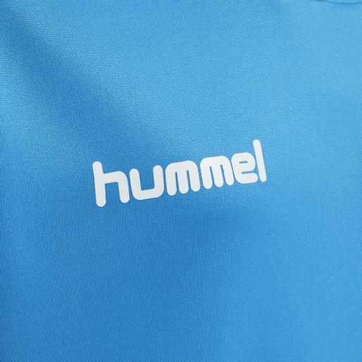 hmlPROMO KIDS POLY HOODIE, DIVA BLUE, packshot