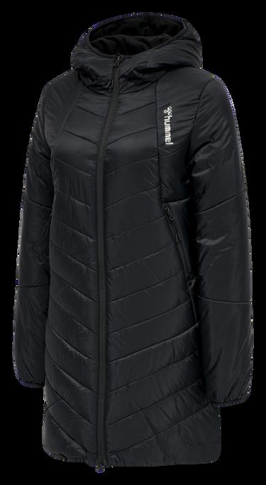 hmlVEGA COAT, BLACK, packshot
