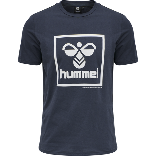 hmlISAM T-SHIRT, BLUE NIGHTS, packshot