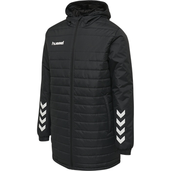 hmlPROMO BENCH JACKET, BLACK, packshot