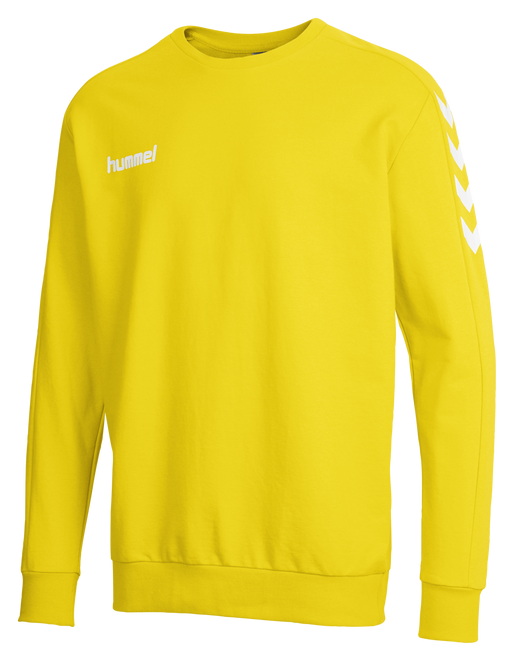 CORE COTTON SWEAT, SPORTS YELLOW, packshot