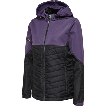 hmlNORTH HYBRID JACKET WOMAN, CROWN JEWEL, packshot