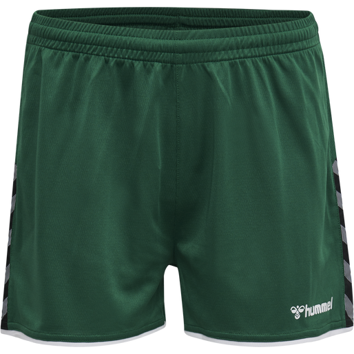 hmlAUTHENTIC POLY SHORTS WOMAN, EVERGREEN, packshot