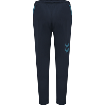 hmlACTION TRAINING PANTS, DARK SAPPHIRE/BLUE CORAL, packshot