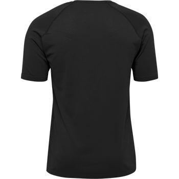 hmlAUTHENTIC PRO SEAMLESS JERSEY S/S, ANTHRACITE, packshot