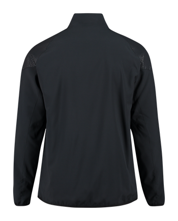 AUTH. CHARGE MICRO ZIP JACKET, BLACK, packshot