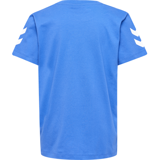 HMLJAKI T-SHIRT S/S, NEBULAS BLUE, packshot