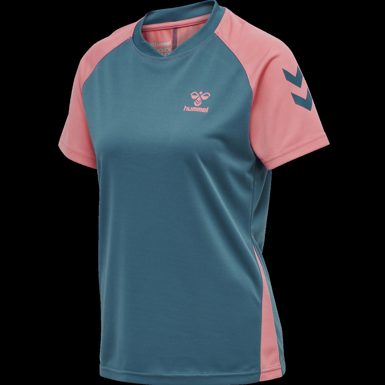 HUMMEL Jeremys T-Shirt Woman     Damen-T-Shirt   dunkelblau   NEU