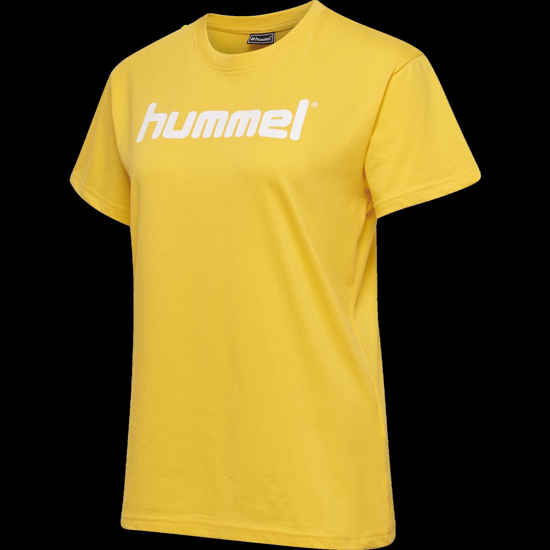 hummel Damen HMLGO Cotton T-Shirt Woman S//S